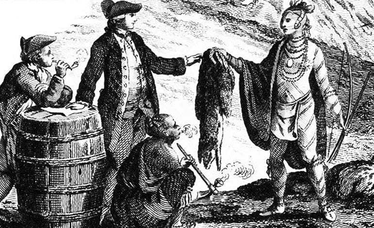 Image result for fur trade