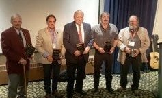 2016 Award Recipients at the Annual General Meeting