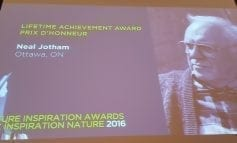 Neal Jotham wins Museum of Nature's Nature Inspiration Award for 2016  - Lifetime Achievement Award