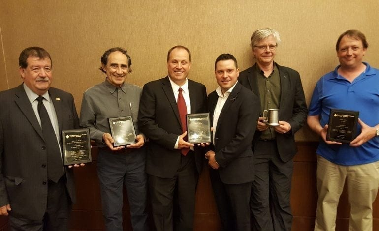 2017 Award Recipients at the Annual General Meeting
