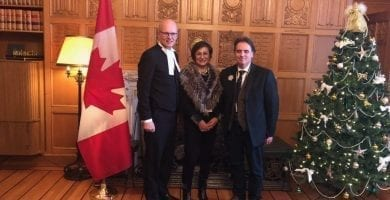 Fur Day on the Hill 2018 - Fur Industry sustainability message heard on Parliament Hill