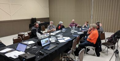 "FIC attends event to help trappers 'tell their story"" and to discuss TRDC advances"