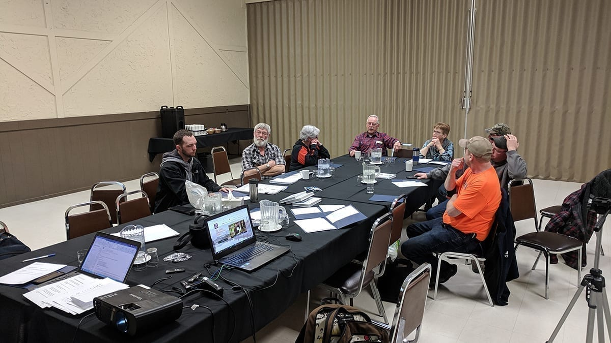 """FIC attends event to help trappers 'tell their story"""" and to discuss TRDC advances"""