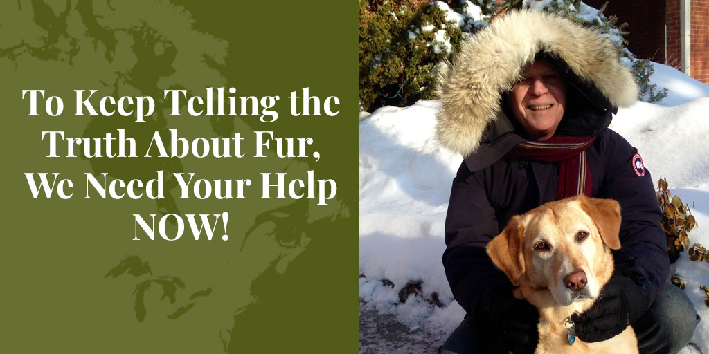 To Keep Telling the Truth About Fur, We Need Your Help NOW! – Truth About Fur Blog Highlight