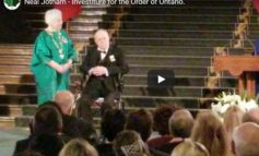 Neal Jotham - Investiture for the Order of Ontario.