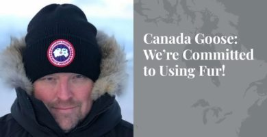 Canada Goose: We're Committed to Using Fur! - Truth About Fur Blog Highlight